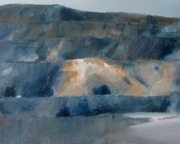 Stone-pit Zbraslav (small), oil on canvas, 50x80 cm, 2015