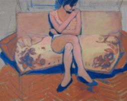 marcela,akryl na plátne,90x150cm,2008,1000eur
