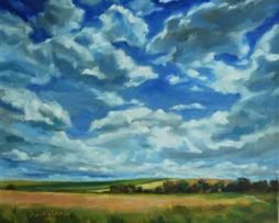 Leto,50x60 cm, olej na plátne,2013