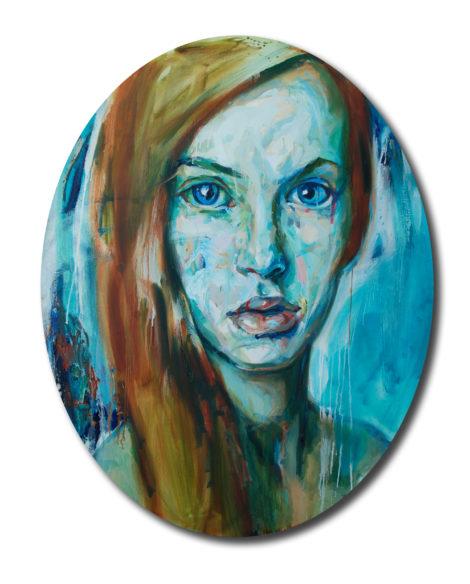 Melanchólia,150x120 cm, olej na plátne,2016