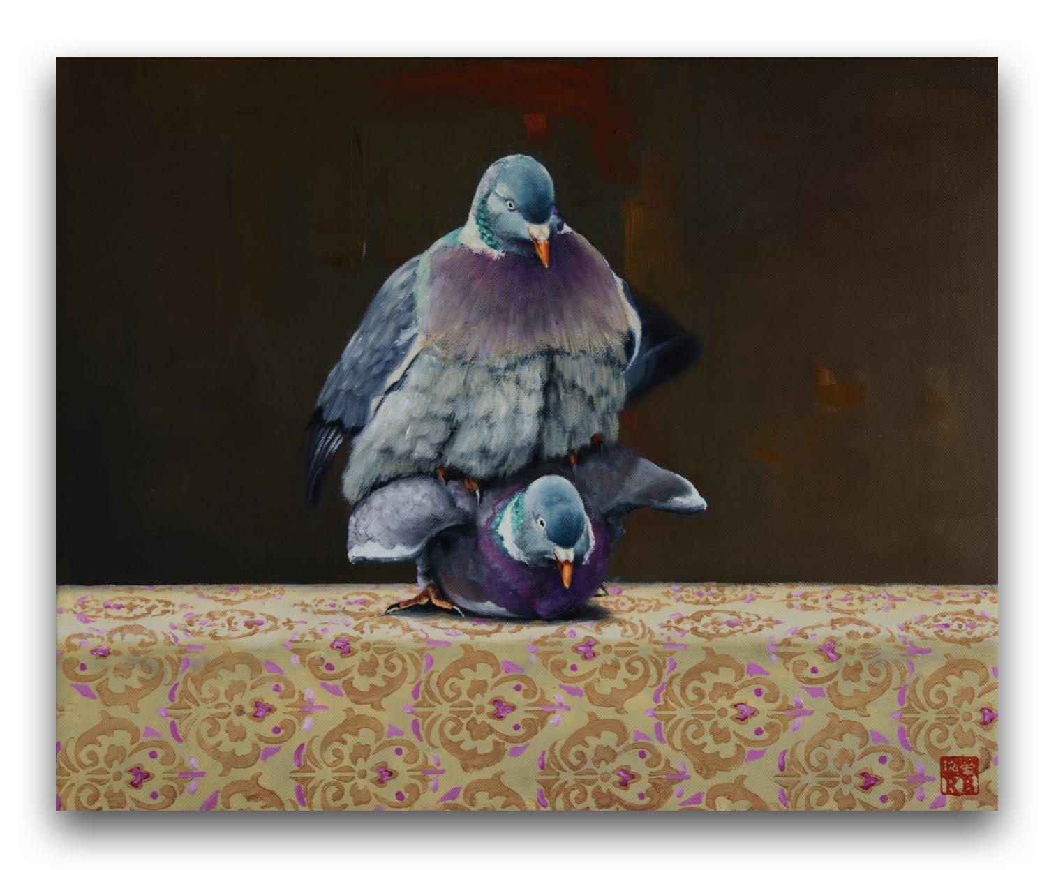 Láska, 40x50 cm, olej na plátne, 2020